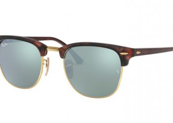 Ray-Ban Clubmaster Flash - Havana & Silver Flash