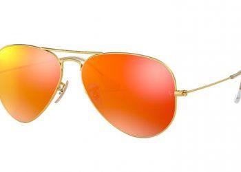 Ray-Ban Aviator Flash - Gold & Orange Flash