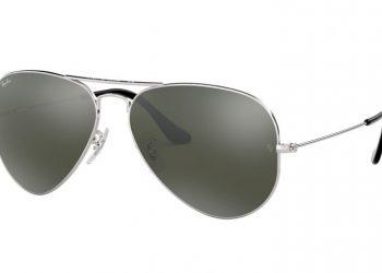 Ray-Ban Aviator Mirror - Silber glänzend & Silber Verspiegelt