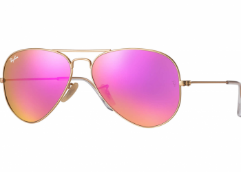 Ray-Ban Aviator Flash - Gold & Zyklam Flash