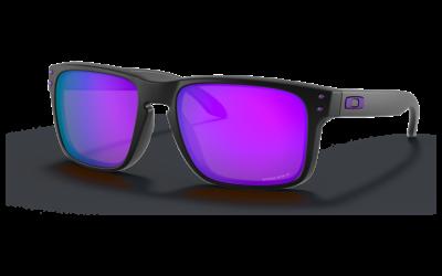 Oakley Holbrook Schwarz Violett Iridium